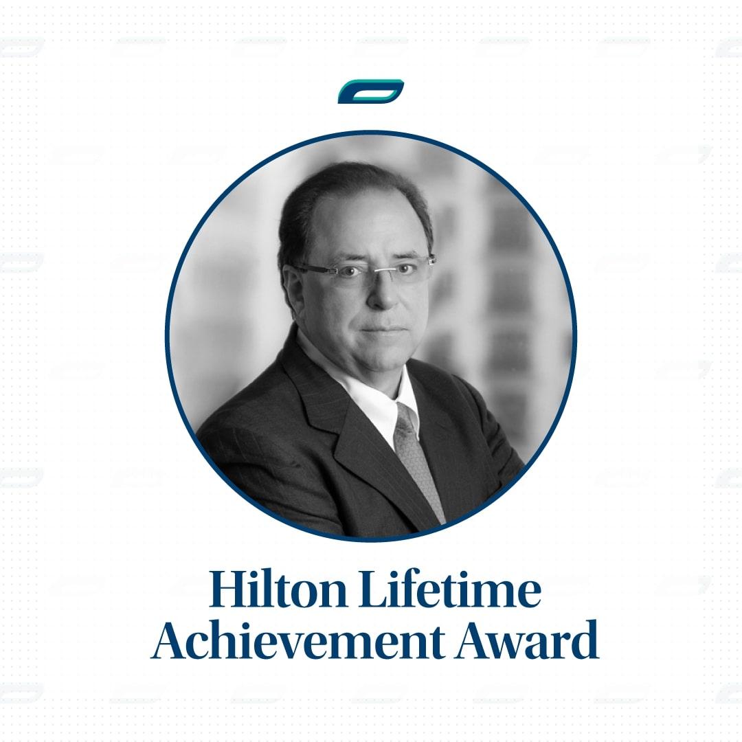 Hilton Lifetime Achievement, Carlos Rodriguez